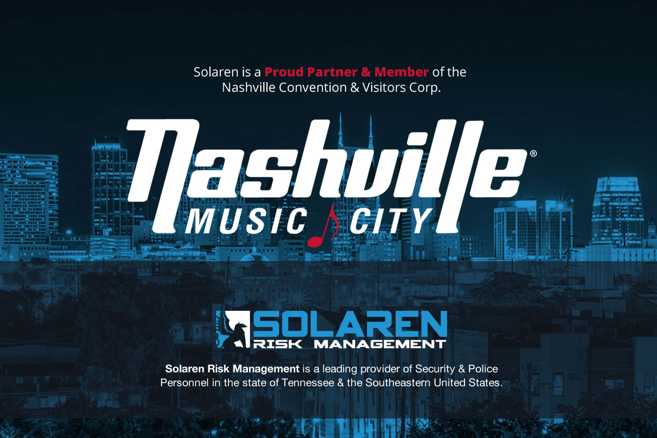 Proud Partner & Member of the Nashville Convention & Visitors Corp.