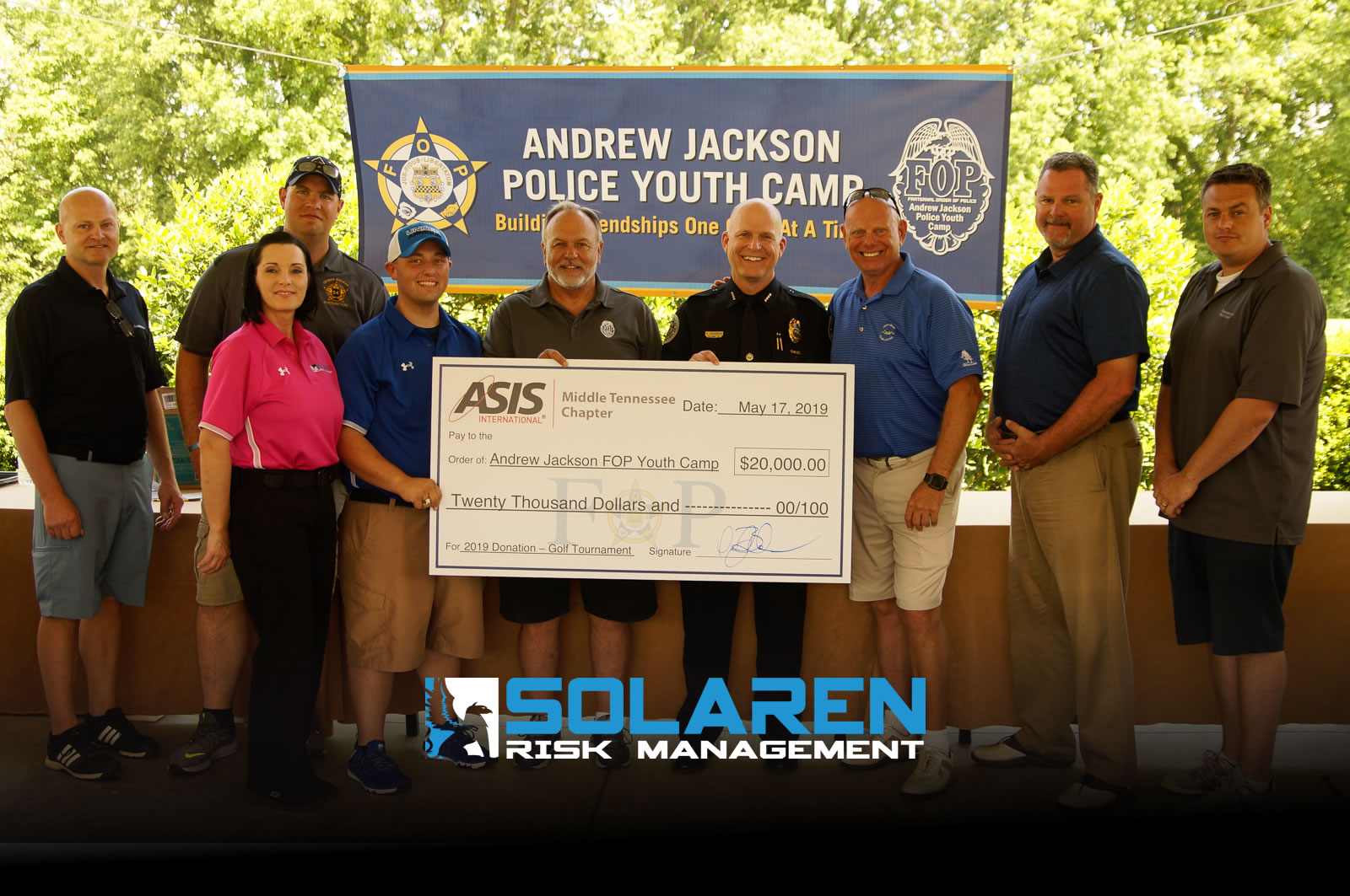 "Solaren Scores ""Triple Play""; Helps Raise $25,000"