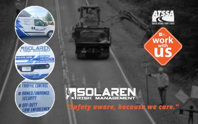 Solaren Is Proud To Unveil An All New Traffic Control Fleet