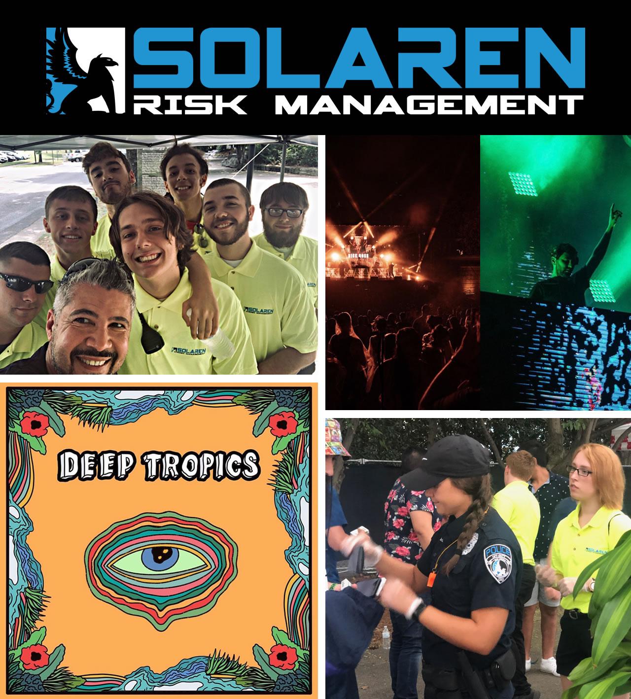 Deep Tropics Music, Art, & Style Festival, Event Security Nashville Police Security