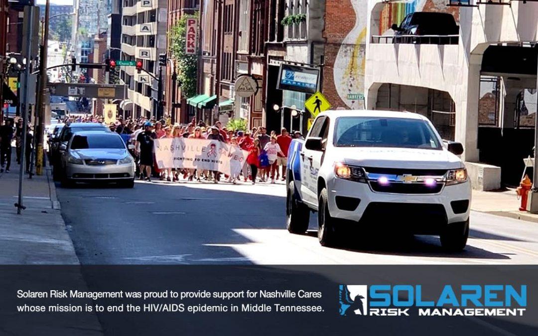 Solaren Provides Traffic Control For The 2019 Nashville Cares AIDS Walk