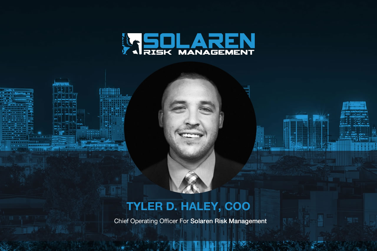 Tyler D. Haley Named Solaren's New Chief Operating Officer