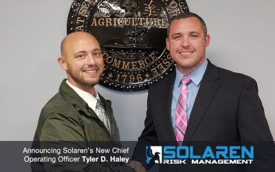 Announcing Tyler D. Haley Being Named Solaren's New Chief Operating Officer