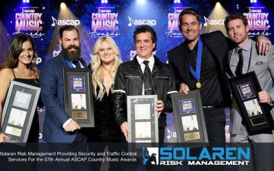 Solaren Risk Management Providing Security and Traffic Control Services For the 57th Annual ASCAP Country Music Awards