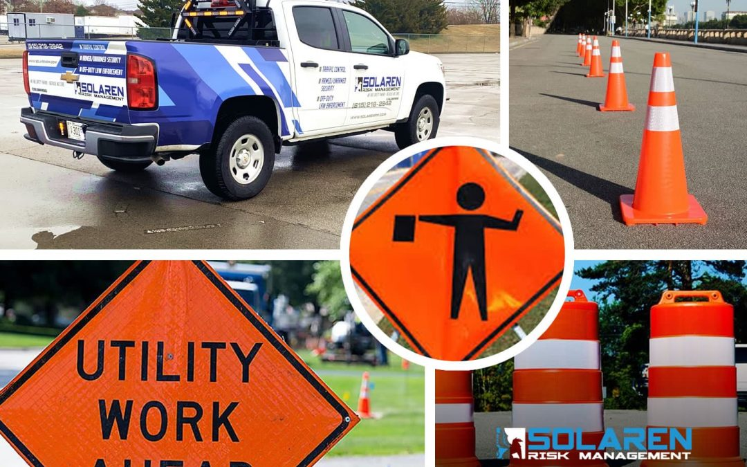 Solaren's Fleet Vehicles  & Personnel Handle Traffic Control For Construction Sites, Events & More
