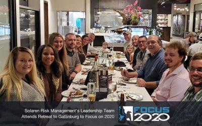 Solaren Risk Management's Leadership Team Attends Retreat to Gatlinburg to Focus on 2020
