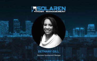 Solaren Risk Management Announcing Bethany Gill as Business Development Manager