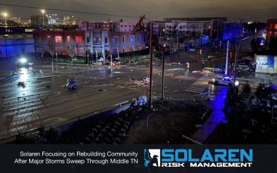 Solaren Focusing on Rebuilding Community After Major Storms Sweep Through Middle TN