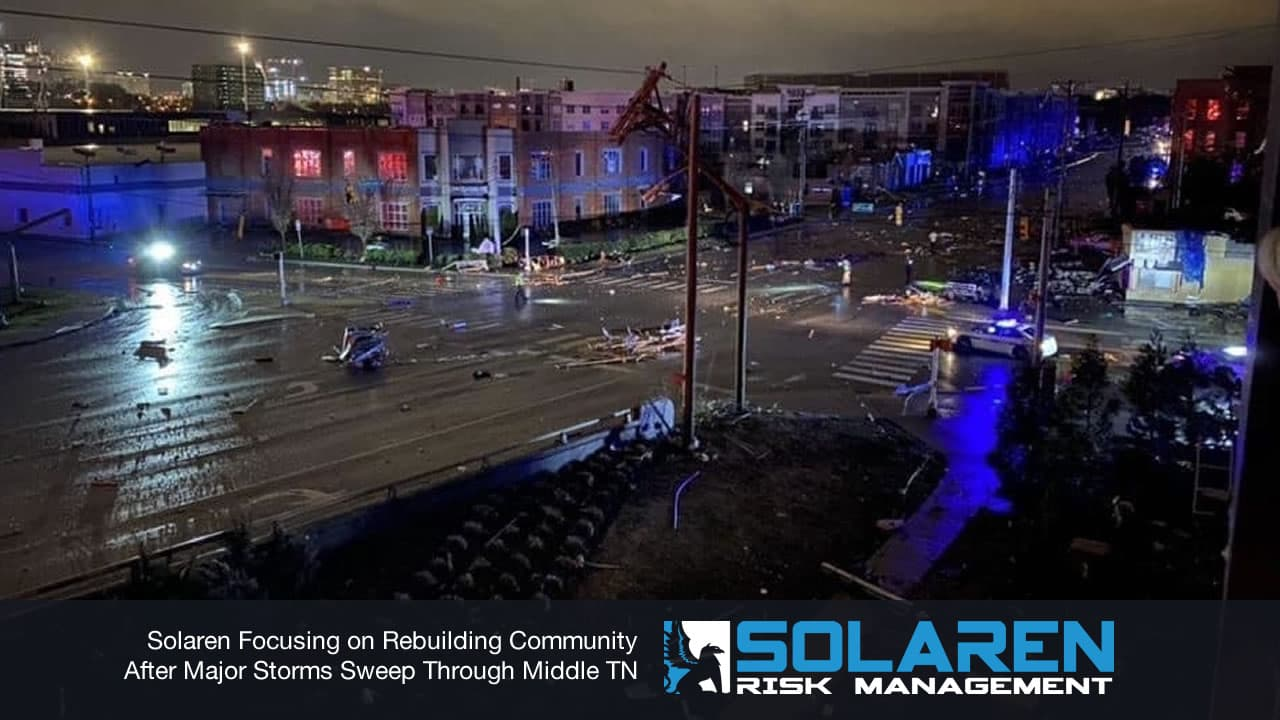 Tornadoes wreak havoc on towns including Nashville