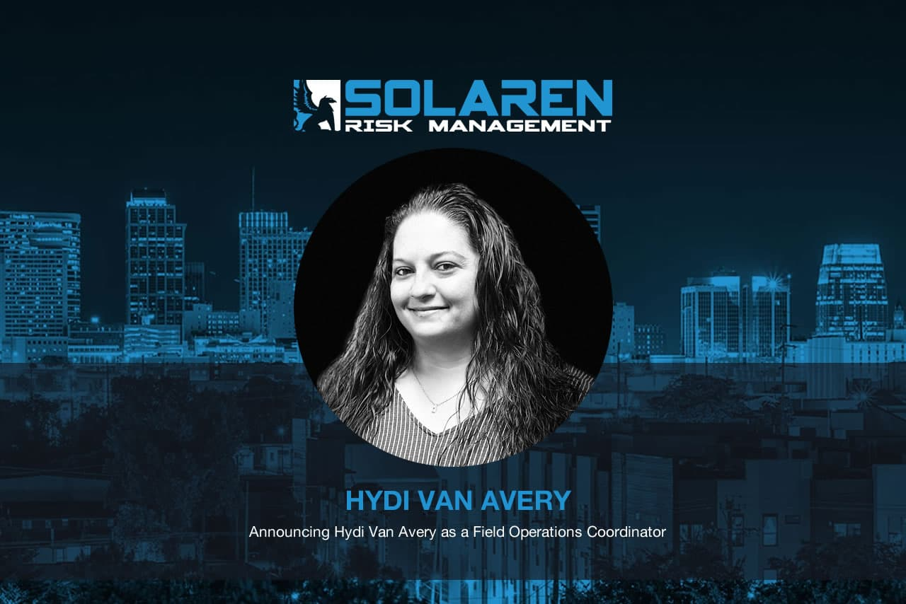 Announcing Hydi Van Avery as a Field Operations Coordinator