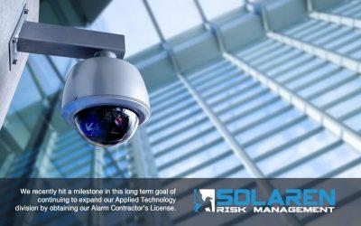 Solaren Risk Management Obtains Alarm Contractor Licensure