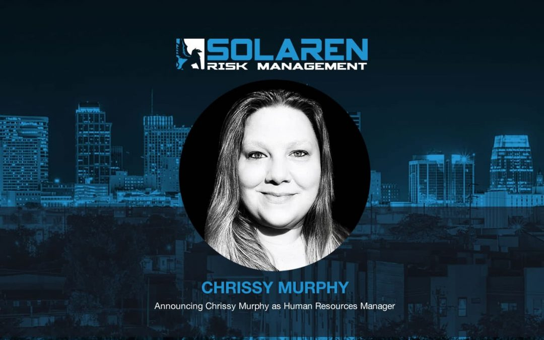 Announcing Chrissy Murphy as Human Resources Manager