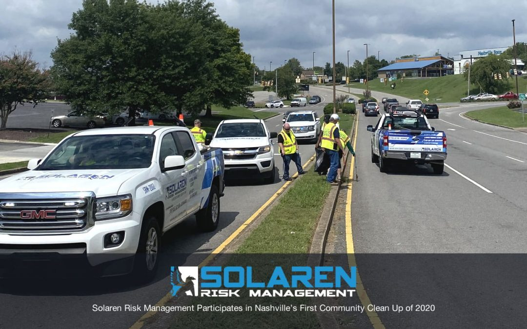 Solaren Risk Management Participates in Nashville's First Community Clean Up of 2020