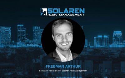 Freeman Arthur Joins Solaren Risk Management as Executive Assistant