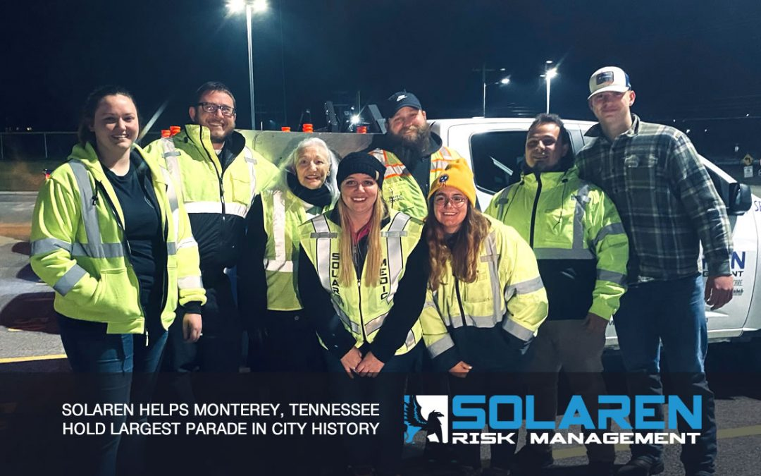 Solaren Helps Monterey, Tennessee Hold Largest Parade In City History