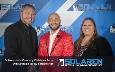 Solaren Hosts Company Christmas Party with Strategic Safety & Health Plan