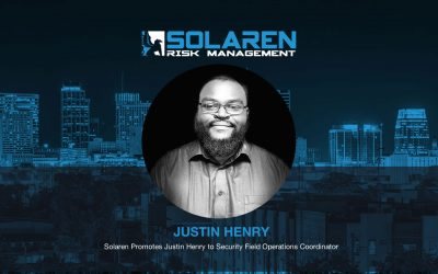 Solaren Promotes Justin Henry to Security Field Operations Coordinator