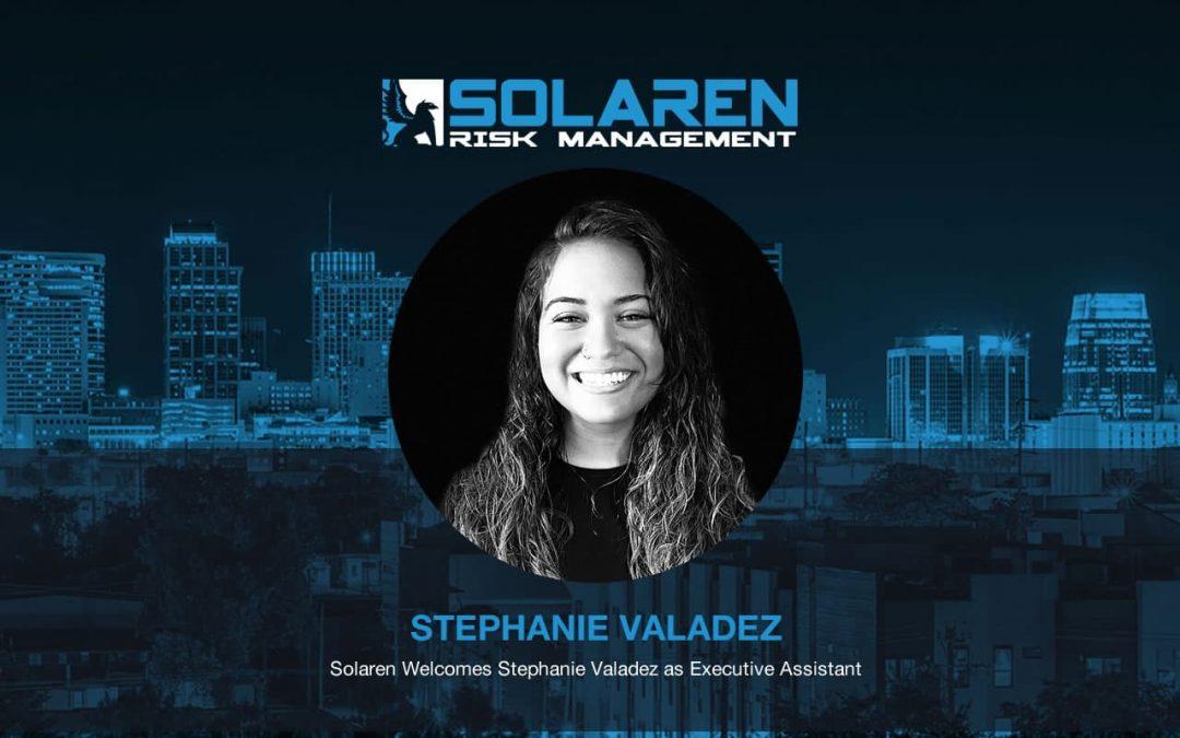 Announcing Stephanie Valadez as Executive Assistant