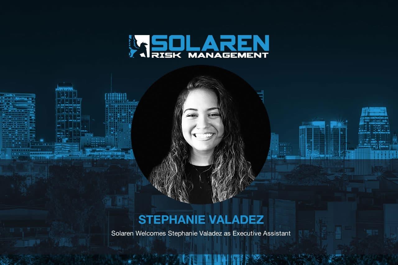 Solaren Welcomes Stephanie Valadez as Executive Assistant