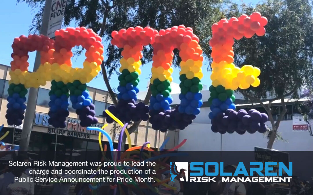 Solaren Creates Public Service Announcement for PRIDE