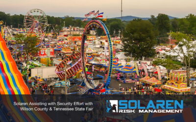 Solaren Assisting with Security Effort with Wilson County & Tennessee State Fair