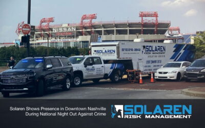 Solaren Shows Presence in Downtown Nashville During National Night Out Against Crime