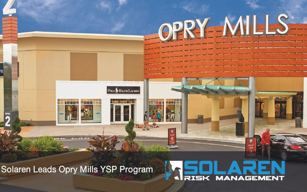 Solaren Leads Opry Mills Mall Youth Supervision Policy (YSP) Program
